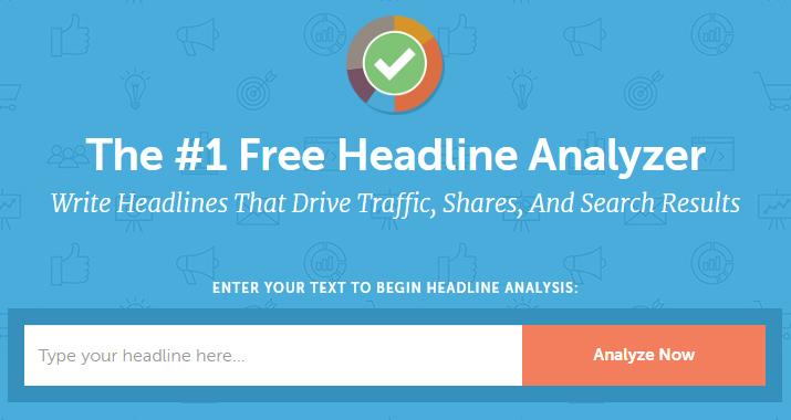 Free Headline Analyzer