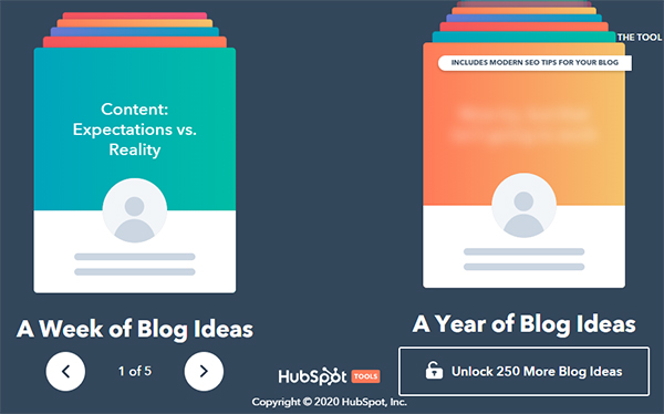 Blog Ideas Generator