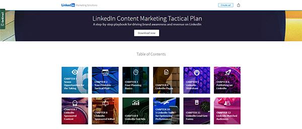 LinkedIn Content Marketing Tactical Plan