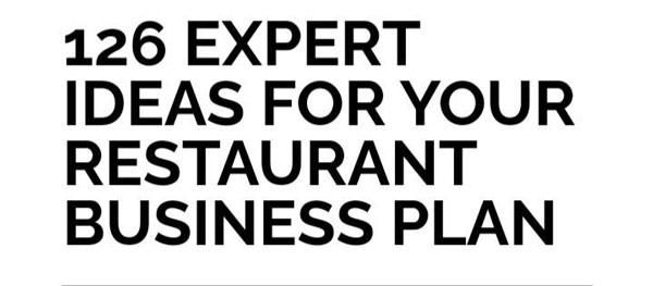 restaurant business plan strategies