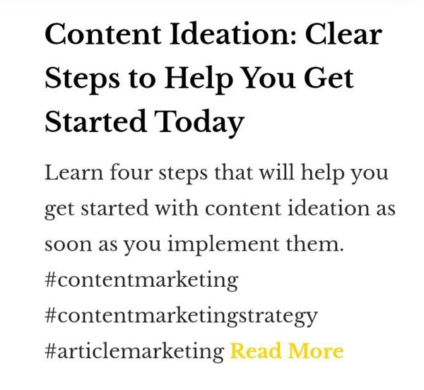 content ideation clear steps to help you get started today