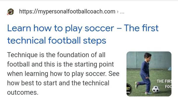 learn how to play soccer