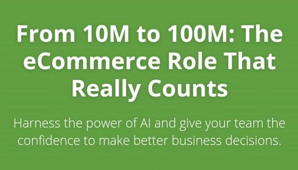 eCommerce Role That Really Counts