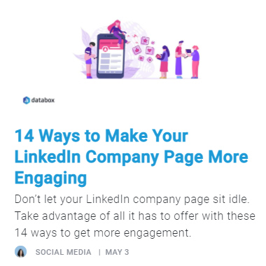14 Ways to Make Your LinkedIn Company Page More Engaging